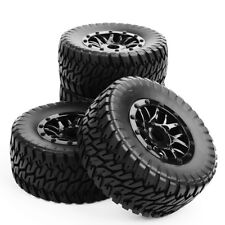 CA 17mm to 12mm Hex RC 1:10 Short Course Truck Tires&Wheel Rim W/Adapter PP1003K