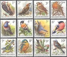 Belgium 1985 Birds/Nature/Wildlife/Woodpecker/Kingfisher/Robin 12v set (s5095b)