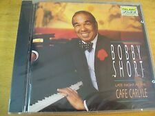 BOBBY SHORT LATE NIGHT AT THE CAFE CARLYLE  CD SIGILLATO TELARC