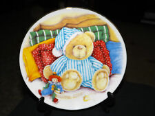 Royal Stafford Fine Bone China Collectors Plate BASHFUL BILLIE Teddy Bear 'Avon'