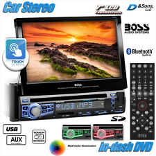 """NEW BOSS Audio 7"""" Touchscreen In-Dash DVD/CD/USB Car Stereo Radio with Bluetooth"""