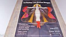 LA FEMME AUX BOTTES ROUGES  !  bunuel deneuve affiche cinema vintage 1974