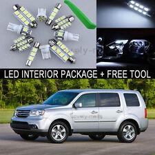 White LED Interior Package Light Bulb 19X Kit For 2009 2014 Honda Pilot + Tool J