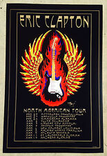 ERIC CLAPTON 2010 TOUR POSTER by STANLEY MOUSE