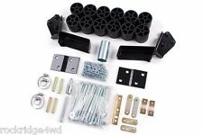 "Zone Offroad 3"" Body Lift Kit 95 96 97 98 Chevy GMC Suburban Yukon XL Tahoe 4x4"