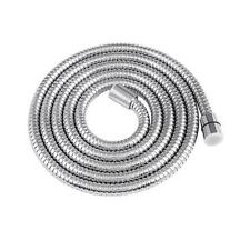 8Ft Shower Hose Stainless Steel Bathroom Heater Water Head Pipe Chrome Flexible