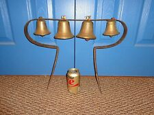 Authentic Antique Large Set of Sleigh or Wagon Brass Sleigh Bells