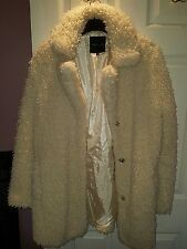 Faux Sheepskin Teddy Fur Coat