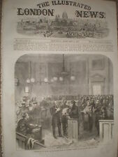 Distribution of relief Mansion House to East End London poor 1867 print ref Y4