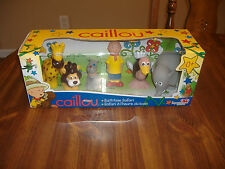 CAILLOU BATHTIME SAFARI BATH TIME TOYS CAILLOU GILBERT 4 ANIMALS-NIP