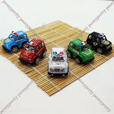 2X Mini Cute Police Car Kids Children Boy Toy Xmas Birthday Party Gift