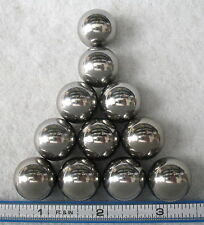 "Eleven (11) 3/4"" Steel Ball Monkey Fist Cores~ Made in USA"