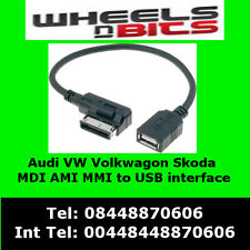 VW media USB Flash Drive Cavo SCIROCCO GOLF POLO dell' interruttore differenziale 310 510 Adattatore Interfaccia