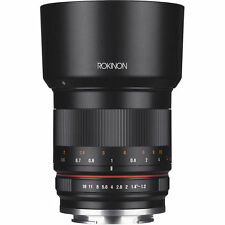 Rokinon 50mm f/1.2 Lens for Canon EF-M - Black