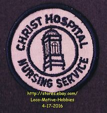 """LMH PATCH Badge CHRIST HOSPITAL Medical Center NURSING RN Service Old Logo 2.3"""""""