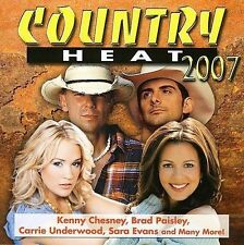 Country Heat 2007 Various Artists MUSIC CD