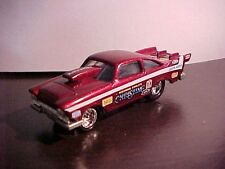 JOHNNY LIGHTNING LE DRAGSTERS USA. NHRA RICHARD EARLE'S CHRISTINE BURGANDY
