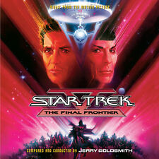 STAR TREK V FINAL FRONTIER - 2CD COMPLETE - LIMITED EDITION - JERRY GOLDSMITH