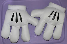 Disney Parks Store Mickey Minnie Mouse Plush Big hands gloves 10""