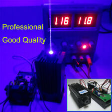 Quality Focusable 445nm 2000mW 2W Blue Laser Module TTL CNC Cutter Engraving new