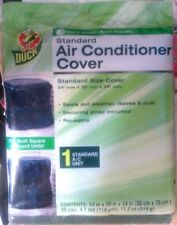 """Duck Standard Central Air Conditioner Cover 34""""w X 30""""h X 34""""d-Universal Reusabl"""