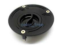 CNC Keyless Gas Fuel Tank Cap Cover Fit For Suzuki GSXR600/750/1000 Hayabusa