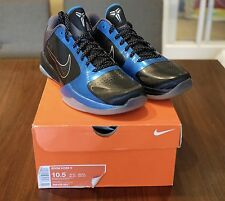 NIKE ZOOM KOBE V 5 Sz 10.5 DS Dark Knight 386429-001 PRELUDE FTB