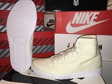 NEW: NIKE AIR JORDAN 1 RETRO HIGH DECON SZ 13 NATURAL/WHITE  #867338-100