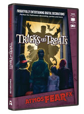 Halloween ATMOSFEARFX TRICKS AND TREATS DVD TV WINDOW PROJECTION Haunted House