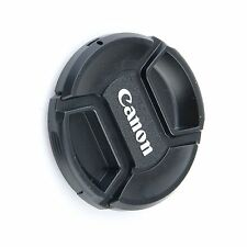 72mm 72 mm Front Lens Cap Center Snap on Lens cap for Canon + Leash