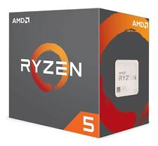 AMD RYZEN 5 1600 Socket AM4 CPU - 3.2GHz / 3.6GHz - 6C / 12T, Retail Box