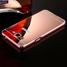 Aluminum Metal Mirror Case PC Back Cover Skin For Samsung Galaxy S Note iPhone