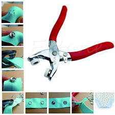 Fastener Snap Pliers Craft Tool With Press Studs Fixing Tool Sewing Craft Set