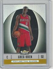 Greg Oden 2006-07 Topps Finest Refractor GOLD rookie 02/50