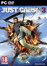 JUST CAUSE 3 PC Game ORIGINAL (BRAND NEW SEALED) PHYSICAL GAME DISK