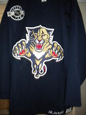 NHL 2006-2007 FLORIDA PANTHERS DREW LARMEN GAME WORN PRACTICE  HOCKEY JERSEY