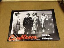 Usado - CASABLANCA - Poster Cartel Cine - Para Coleccionistas - Used