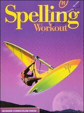 Modern Curriculum - Spelling Workout H (Grade 8) Student Workbook (2002)