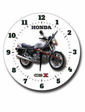"HONDA CBX 1000 MOTORCYCLE 10"" INCHE DIAMETER  METAL WALL CLOCK.CLASSIC BIKES."