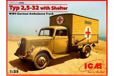 ICM 35402 1/35 Typ 2,5-32 with Shelter WWII German Ambulance Truck