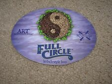 NEW HOLLAND BREWING Full Circle Oval STICKER craft beer brewery dragons milk
