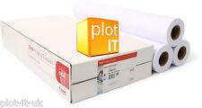 3 rolls Designjet 90gsm CAD Plotter Paper 610 x 50m A1