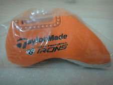 Brand New Taylormade  Neoprene Irons Head Cover Set of 10 in Bag! Color ORANGE!!