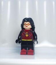 A581 Lego CUSTOM SPIDER WOMAN Jessica Drew INSPIRED MINIFIG verse Gwen Man Silk