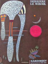 KANDINSKY - DERRIERE LE MIROIR 179 - LITHOGRAPH  -1969 - FREE SHIP IN THE US !!!