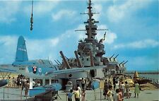 MOBILE AL BATTLESHIP USS ALABAMA~SHRINE TO ALABAMIANS WHO FOUGHT IN WAR POSTCARD