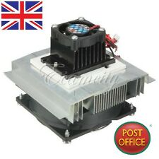 Thermoelectric Peltier Refrigeration Cooling System Kit fan + TEC1-12706 DIY