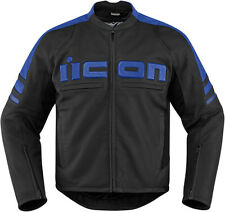*Fast Shipping* ICON Motorhead 2 Motorcycle Jacket (Stealth, Red, Blue, Green..)