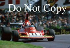 Clay Regazzoni Ferrari 312 B3 British Grand Prix 1974 Photograph