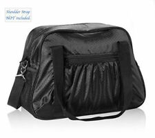 Thirty one ALL IN TOTE travel shoulder gym sports utility bag 31 gift in Black